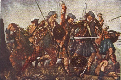 Battle of Culloden by Morier